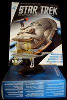 Star Trek The Official Starships Collection #5 Enterprise NX-01 - Pre-Owned